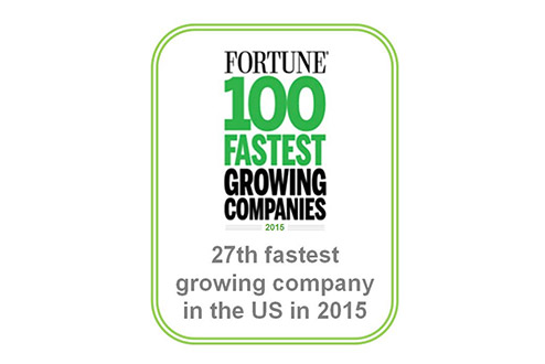 AmTrust 27th fastest growing company in the US in 2015